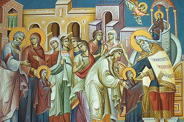 Αφιέρωμα στην εορτή των Εισοδίων της Θεοτόκου στα Άγια των Αγίων
